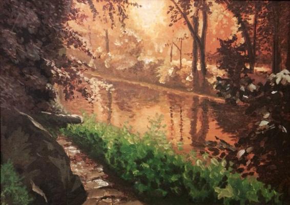 Alex Averskiy. Golden Forest