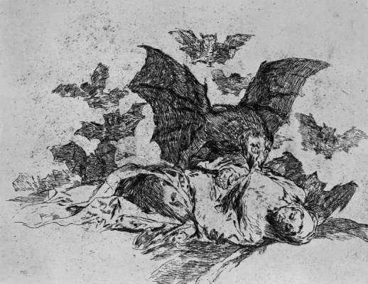 "Francisco Goya. The series ""disasters of war"", page 72: the Consequences"