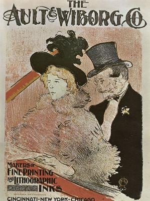 """Henri de Toulouse-Lautrec. Poster """"At the concert"""""""