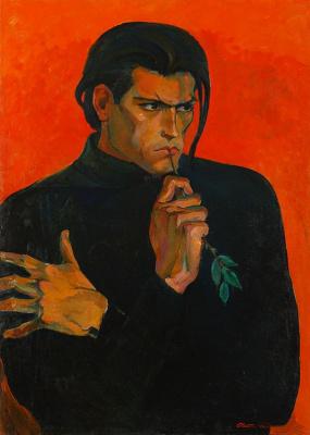 Зухур Нурджанович Хабибуллаев. Портрет актера Х. Годо