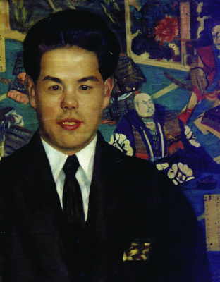 Boris Mikhailovich Kustodiev. Portrait Kumano-San