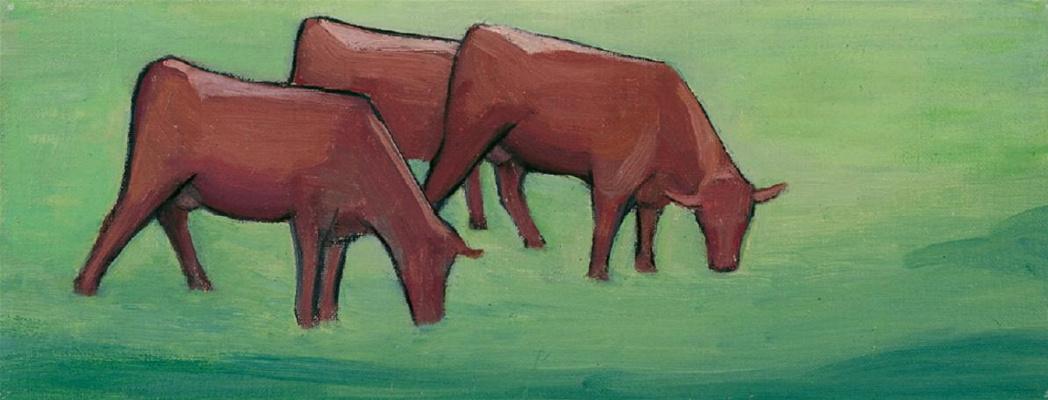Gabriele Münter. Cows