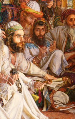 William Holman Hunt. The finding of the Saviour in the temple. Fragment III