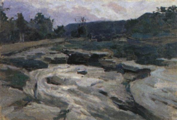 Victor Elpidiforovich Borisov-Musatov. Mountain river