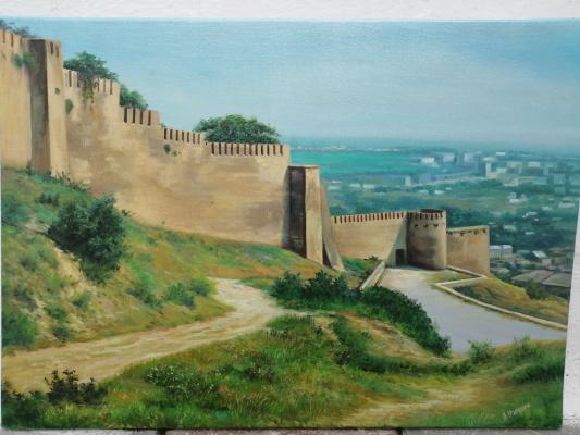 Seyran Mammadov. The fortress wall of Derbent