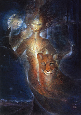 Susan Seddon Boulet. A Portrait Of The Inner Джорней4 Marcia Hood