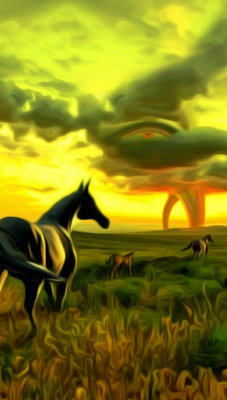 Denis Sergeyevich Ismailov. Horse family and two tornadoes