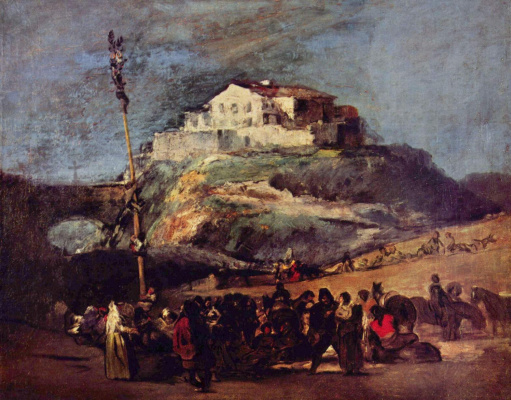 Francisco Goya. Maypole