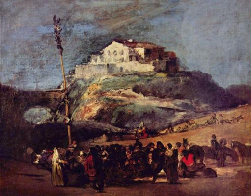Francisco Goya. Maypole