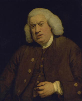 Joshua Reynolds. Dr. Samuel Johnson