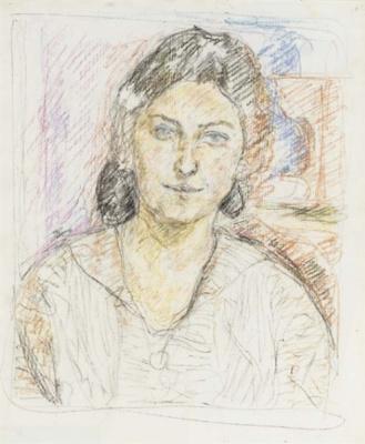 Альберто Джакометти. Портрет женщины