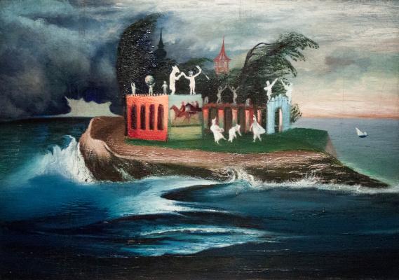 Tivadar Kostka Chontvari. Mysterious Island