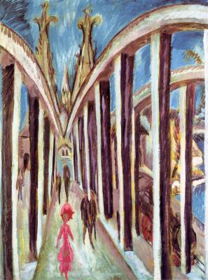 Ernst Ludwig Kirchner. Bridge