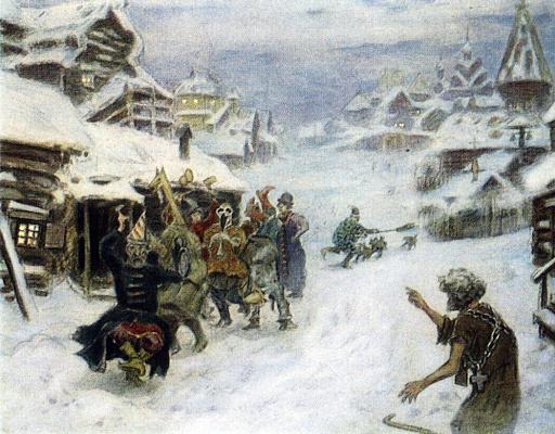 Apollinarius Mikhailovich Vasnetsov. Clowns