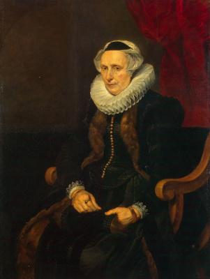 Cornelis de Vos. Portrait of an elderly woman