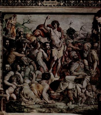 Якопо дель Конте. Проповедь Иоанна Крестителя