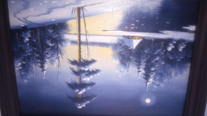 Ионис Адамо Юконис. Зима