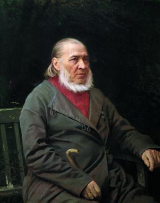 Иван Николаевич Крамской. Портрет писателя Сергея Тимофеевича Аксакова