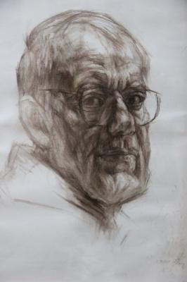 Владимир Семенович Мурахвер. Автопортрет.