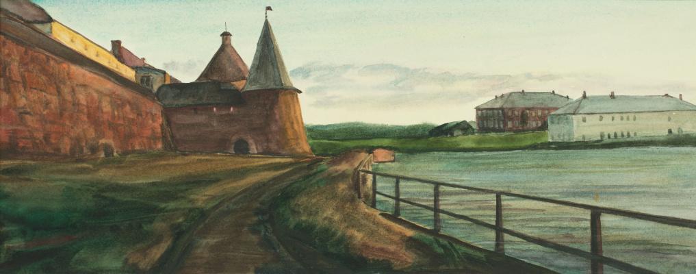 Виктор Михайлович Бородин. Озеро Святое