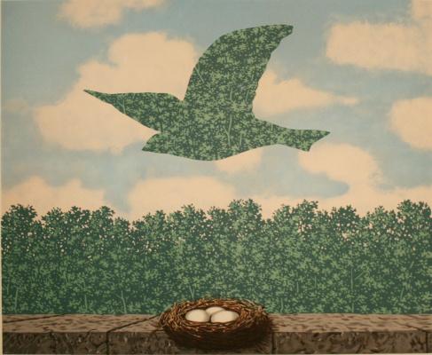 René Magritte. Spring