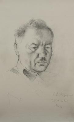Петр Владимирович Вильямс. Портрет Ворошилова. 1932