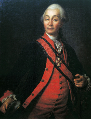Дмитрий Григорьевич Левицкий. Портрет Александра Васильевича Суворова. 1786
