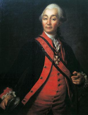 Dmitry Grigorievich Levitsky. Portrait Of Alexander Suvorov