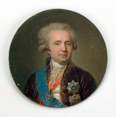 Лампи, Иоганн (старший). Портрет графа Александра Андреевича Безбородко