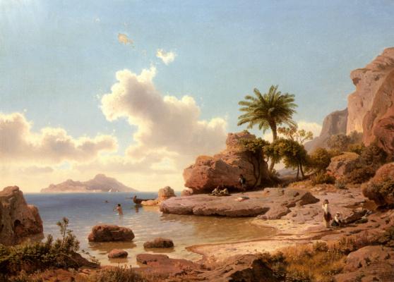 Альберт Фламм. Пейзаж
