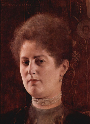 Gustav Klimt. Female portrait (Mrs. Hayman)