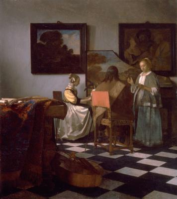 Jan Vermeer. Concert
