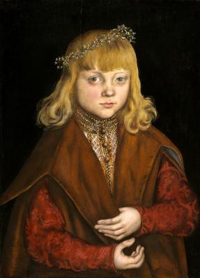Lucas Cranach the Elder. Saxon Prince