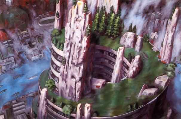 Элеанор Бонд. Знакомство скалолазов с живой пиродой на территории жилого комплекса