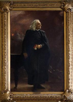 Ilya Efimovich Repin. Portrait Of Franz Liszt