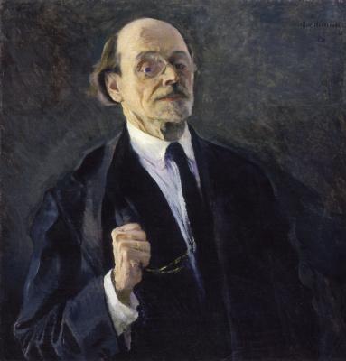 Mikhail Vasilyevich Nesterov. Self-portrait