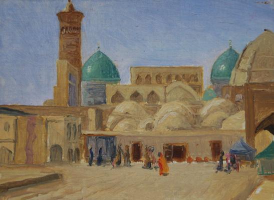 Gennady Shotovich Bartsits. Bukhara, study