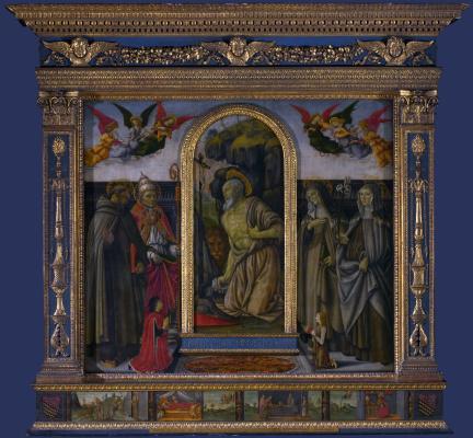 Франческо Боттичини. Алтарь Св. Гулорама
