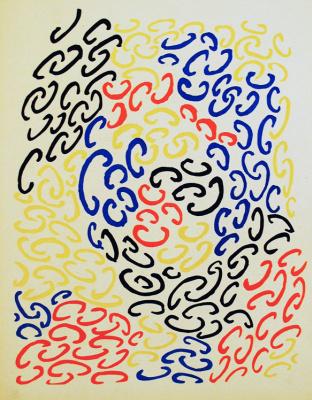 Sonia Delaunay. Composition 10