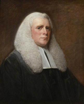 George Romney. Portrait of Judge Sir George Wilson