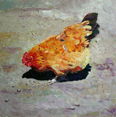 Михаил Рудник. Chickens No. 8