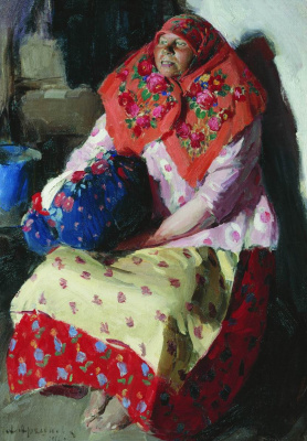 Abram Arkhipov. The woman