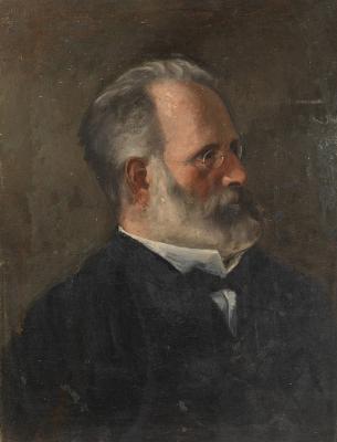 Cuno Amiè. Portrait of artist's father