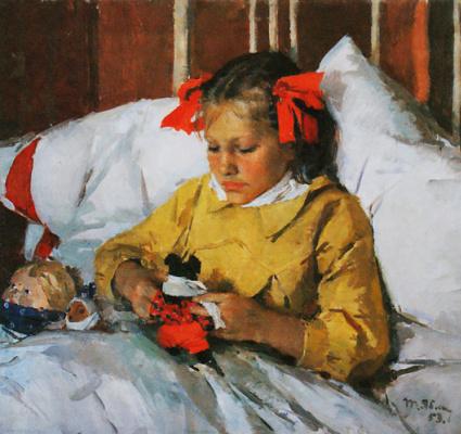 Tetyana Yablonska. Cold