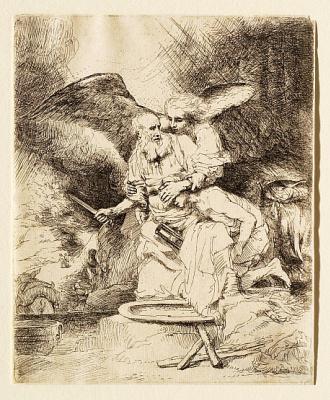 Gerrit (Gerard) Dow. The Sacrifice Of Abraham