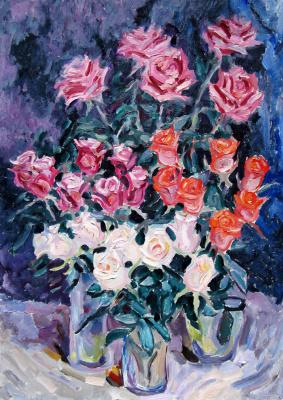 Alexey Vladimirovich Konstantinov. Roses