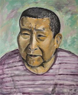 Indira Baldano. Portrait of mom