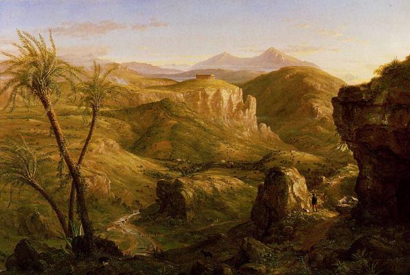Thomas Cole. The Temple Of Segesta