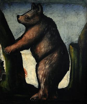 Нико Пиросмани (Пиросманашвили). Медвежонок