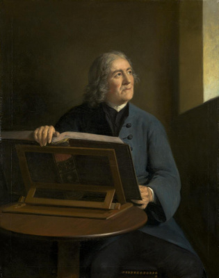 Thomas Gainsborough. Parish clerk. Portrait of Edward Orpin, parish priest of Bradford-on-Avon